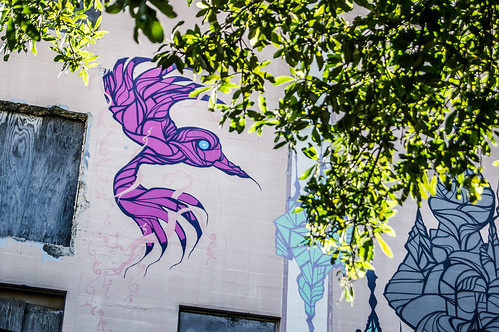 Weah Midtown Bird | Houston Graffiti | 008
