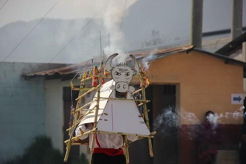 Bull Fireworks in Guatemala
