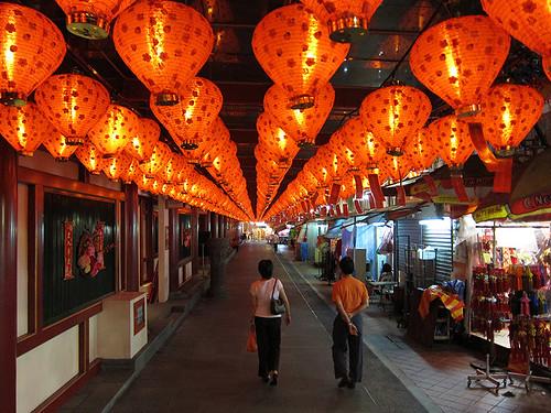 lanterns in China Town