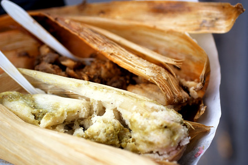 street tamales in condesa