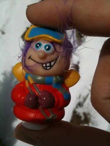 silly ski toy