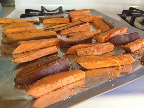 Sweet Potato Fries by mikey and wendy