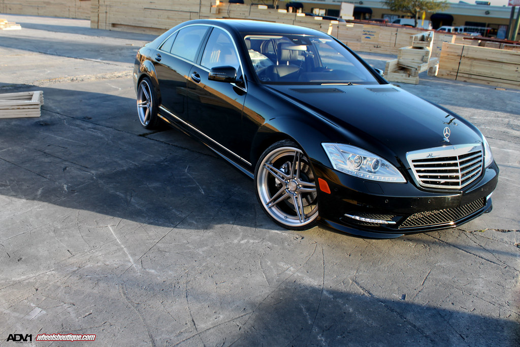 Mercedes benz s55 on adv05 sl properly done mbworld for Mercedes benz s55