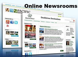 social online newsroom PRESSfeed