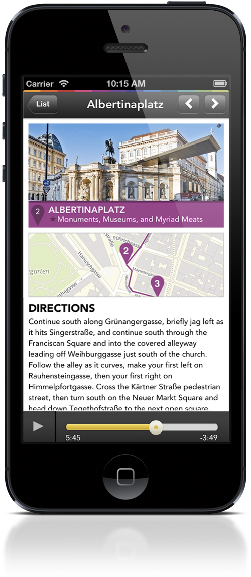 Gretl Goes: Vienna Tour Stop Albertinaplatz_iPhone
