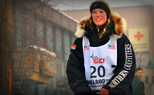 Iditarod Musher #20, Kristy Berington