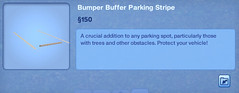 Bumper Buffer Parking Stripe 2
