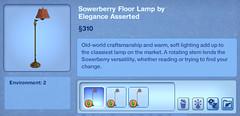 Sowerberry Floor Lamp by Elegance Asserted