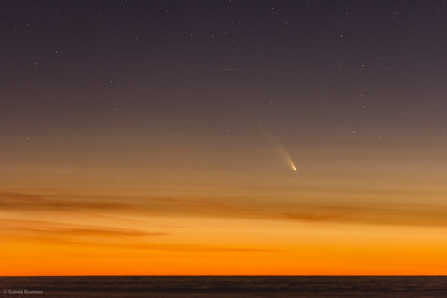 Comet PanSTARRS from Paranal