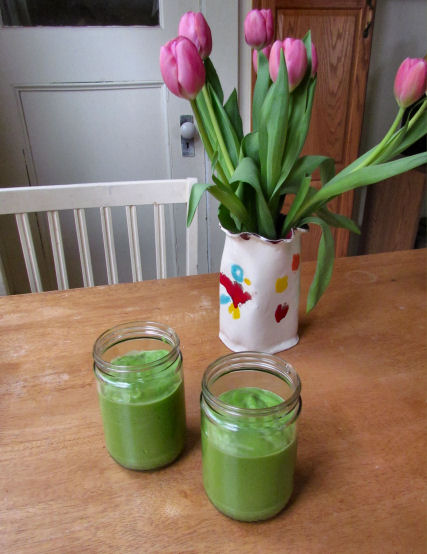 Avocado Smoothies for Two