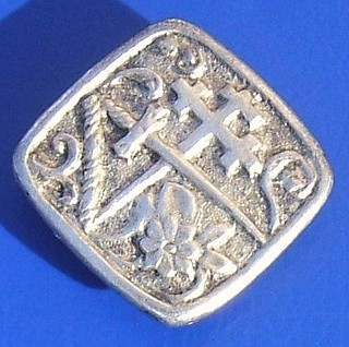 Unidentified Scottish silver badge or button (c.1907)