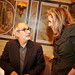 Small photo of Alan Yentob (BBC) & Stevie Spring (Luxup)