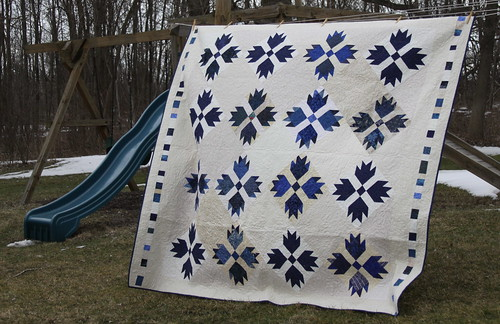 Jeff & Kim Quilt - Finish