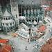 Belgique : Tournai, cathèdrale Notre-Dame de Tournai. XIIe ©(vincent desjardins)