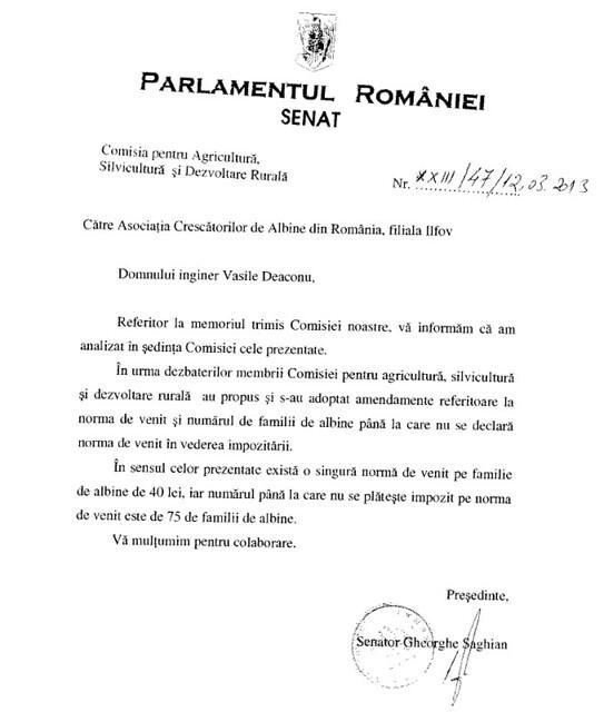 Raspus parlament