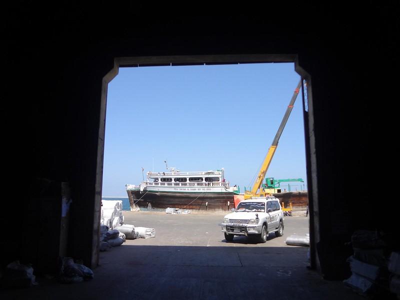 Fotografia do porto de Berbera, Somalilândia