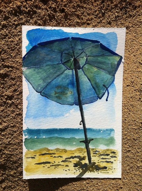 Hawaii postcard 8: Sunbrella