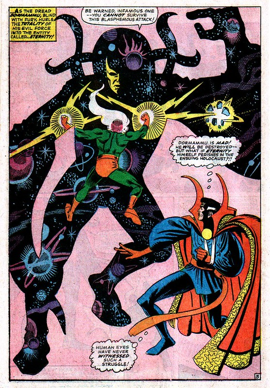 Strange Tales 146 Eternity and Doctor Strange Steve Ditko