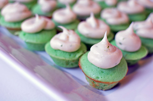 Mini Lime Cupcakes 5