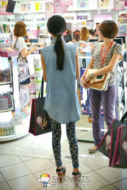 MYFM DJ MeiYan.my Sasa ambassador @ IOI Mall | TianChad.com