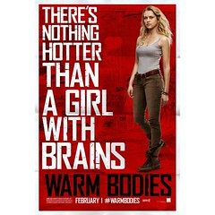 Completed reading the book,  the movie is next!  #warmbodies