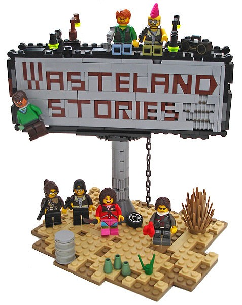 Wasteland stories - Billboard