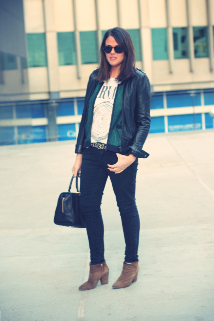 Look blakc + green - Monicositas