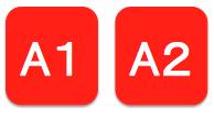 A1・A2席