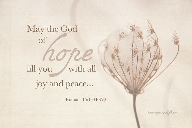 Hope, Joy and Peace