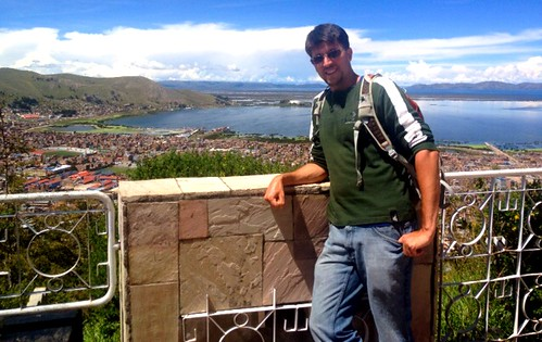 A View of Puno and Lake Titicaca by tf_82