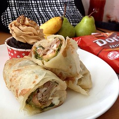 meal, breakfast, taquito, sandwich wrap, meat, food, dish, cuisine, burrito,