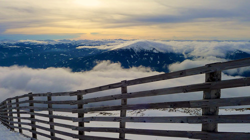 sunset cloud alps austria montain mauterndorf