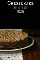 Cheese cake al cioccolato e nocciole