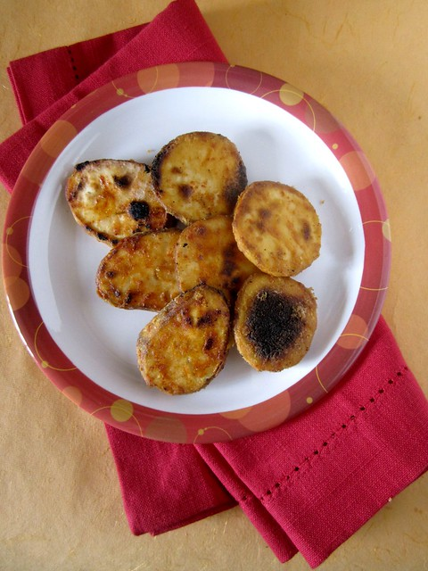 Kananga Phodi - Tawa fried Sweet Potatoes