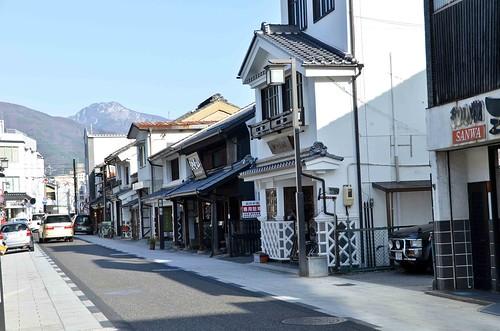 Nakamachi Street, Shops