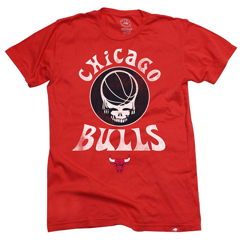 Chicago Bulls Grateful Dead Shirt