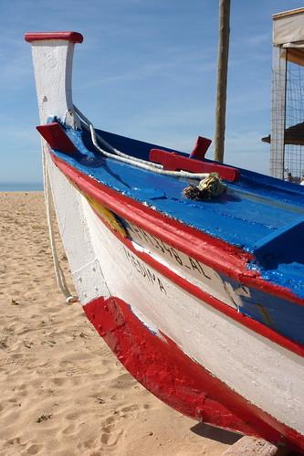 Portugal, Armacao de Pera - boat