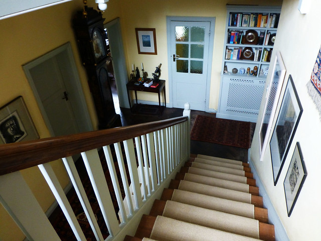 Staircase in the vicarage