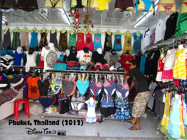 Phuket Day 4 - Stalls Nearby Guesthouse