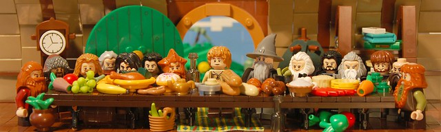 the Last Supper - Hobbit Edition