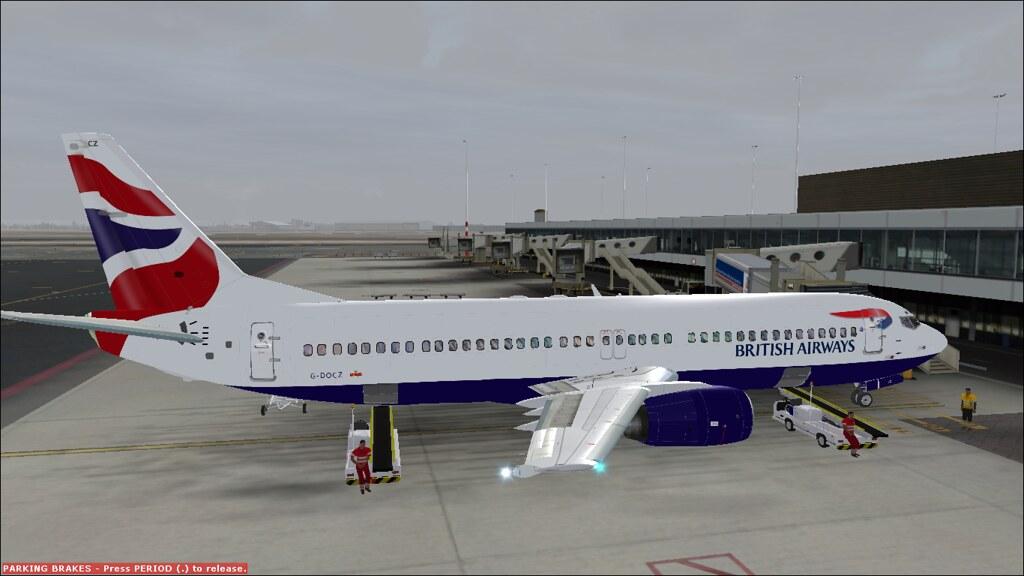 British Airways 737-400 | FSX EGKK-EHAM | Jason | Flickr