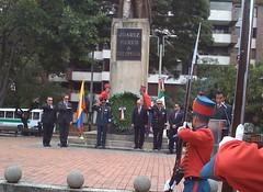 Conmemoración del CCVII Aniversario del Natalicio de Benito Juárez en Colombia.