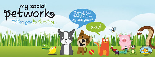 My Social Petwork logo
