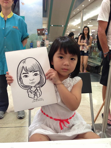 caricature live sketching for Takashimaya Good Friday Special - 26