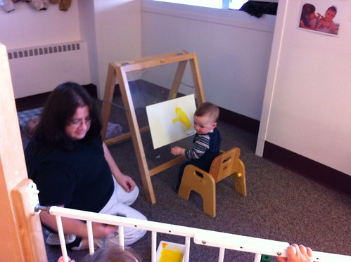Painting at Daycare 2
