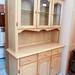 Large hardwood kitchen dresser