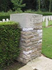 Arras: Agny Military Cemetery (Pas-de-Calais)