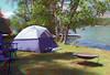 Tie Lake Tent - 3D