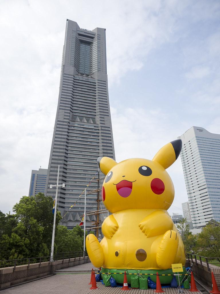 PIKACHU Yokohama Landmark Tower