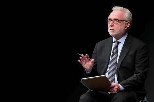 "Wolf Blitzer begins the discussion, ""CNN Politics Campaign 2016: Like, Share, Elect."""